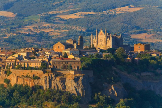 Orvieto, Province of Umbria, Italy (Photo: Steve Luck)