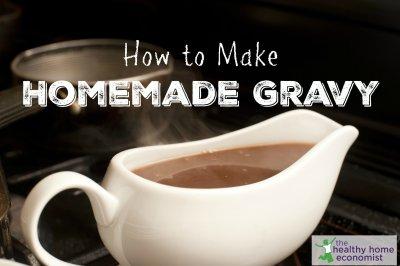 Traditional Homemade Gravy Recipe (+ VIDEO) | Healthy Home Economist