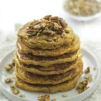 Sweet Potato and Pecan Pancakes