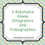 5 Substance Abuse Infographics