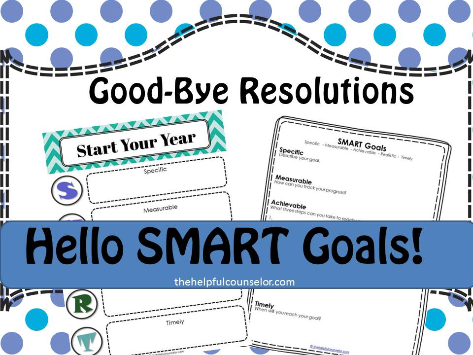 New Year SMART Goals Free Printable