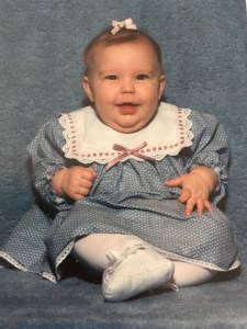 The Hess Station Chubby Baby Jill at 3 months