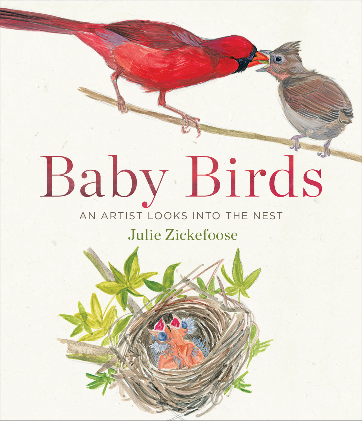 Book Review: Baby Birds: An Artist Looks Into the Nest by Julie Zickefoose