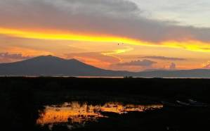 Sunset over Lake Chapala  Jalisco Mexico thehikinglife thegreatoutdoors mexicohellip