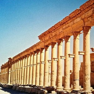 The Great Colonnade Palmyra Syria In 2001 I spent ahellip