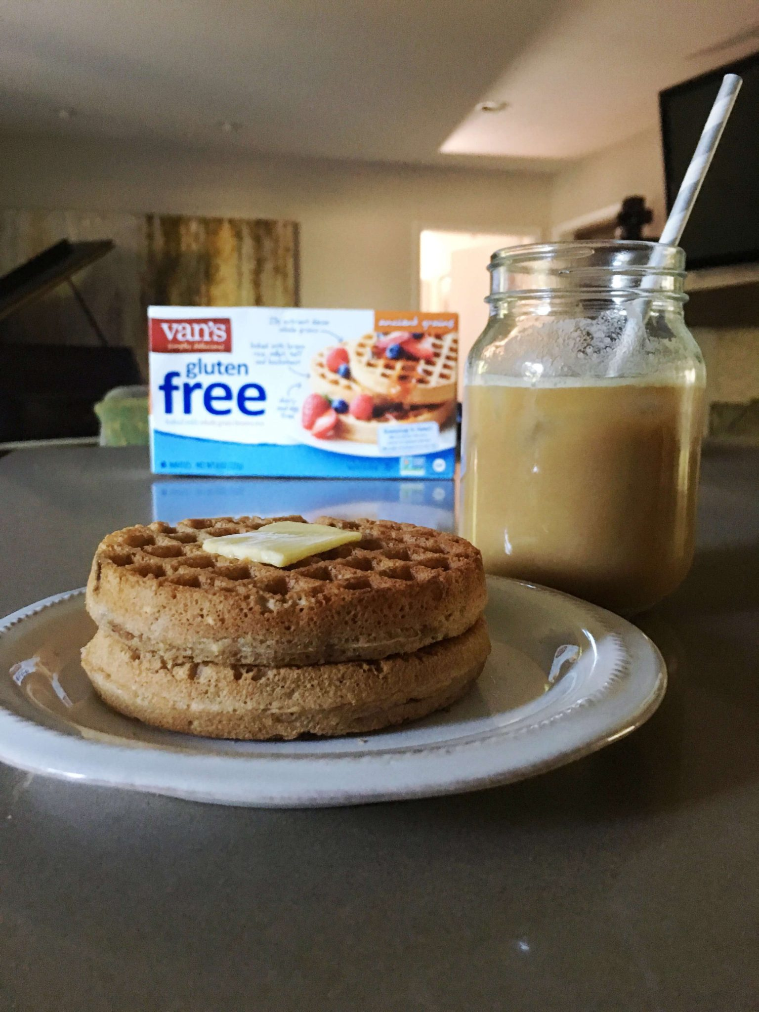 Giveaway with Vans Gluten Free Waffles // www.thehisfor.com