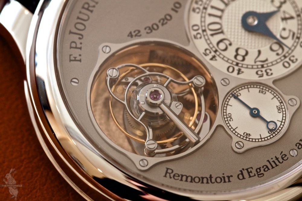 FP Journe Tourbillon Souverain tourbillon cage