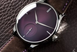 The Horophile x H. Moser & Cie. Venturer Small Seconds XL Purple Haze
