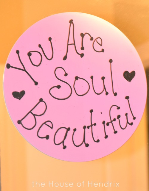 You are SOUL beautiful. Speak truth into your daughter with mirror messages.