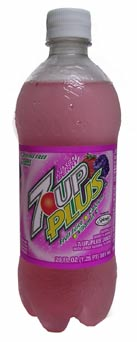 Mixed Berry 7-Up Plus