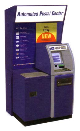 USPS Automated Postal Center