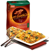 PF Chang s home menu garlic chicken noodles