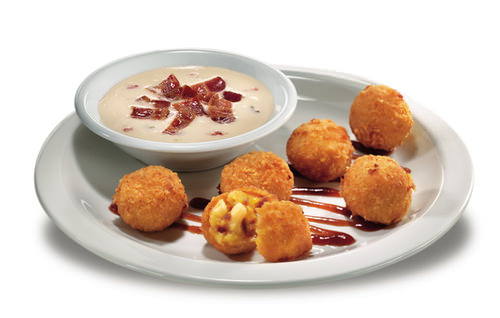 BBQ Bacon Mac n Cheese Bites