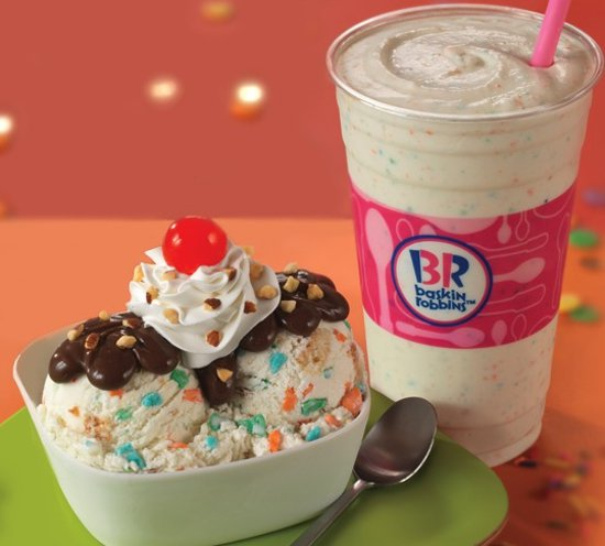 Baskin Robbins Icing on the Cake Ice Cream