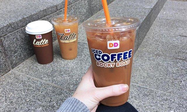 Dunkin Rocky Road Iced Coffee