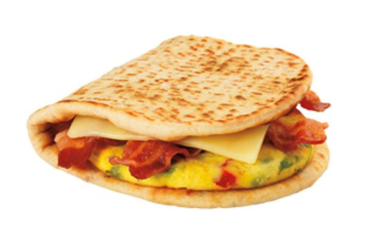 Dunkin Spicy Omelet Sandwich