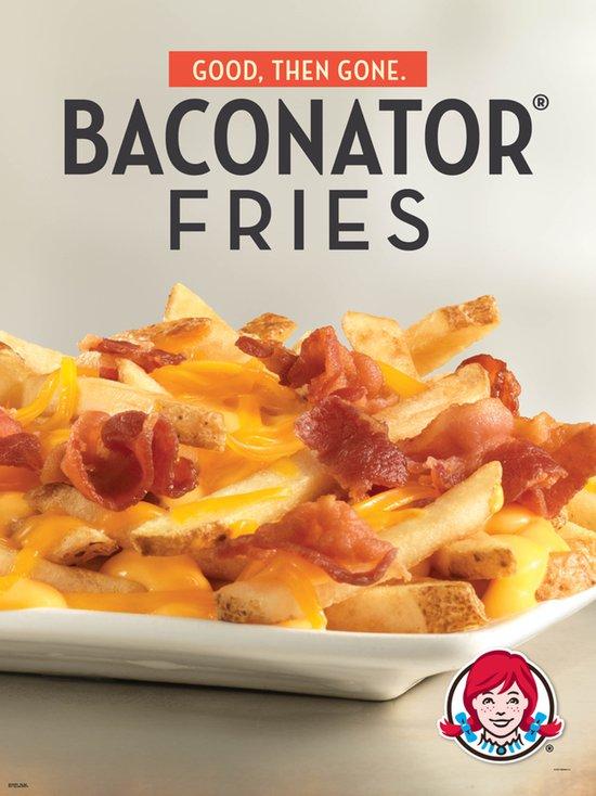 Wendy s Baconator Fries