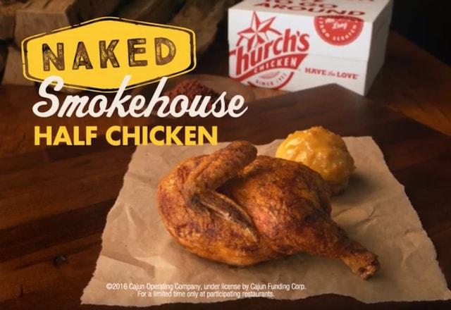 Church s Smokehouse Half Chicken