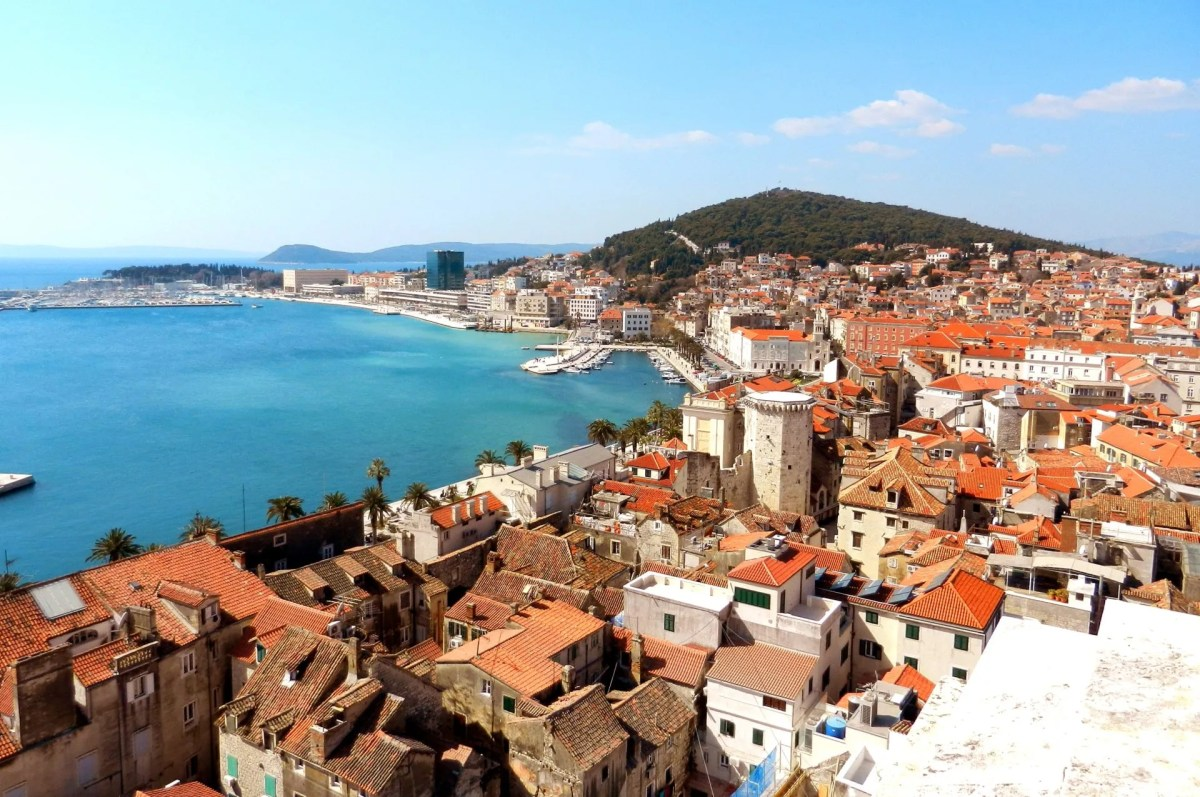 Split City and the Emperor's Palace