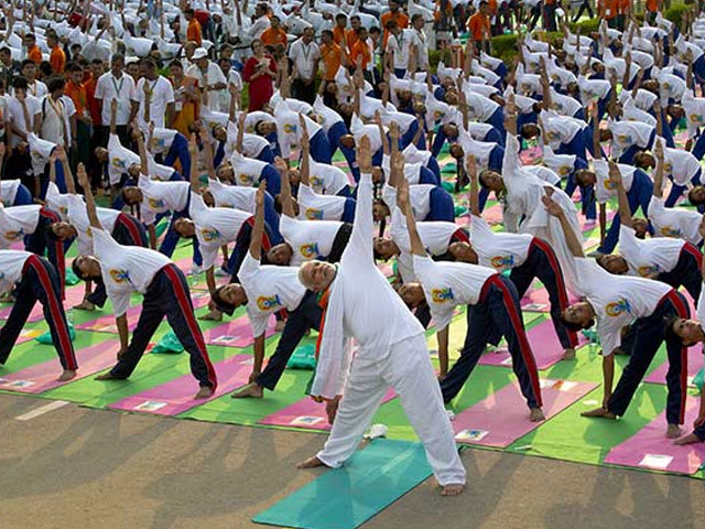 The yoga asanas performed during the International Yoga Day at Rajpath were according to the Common Yoga Protocol
