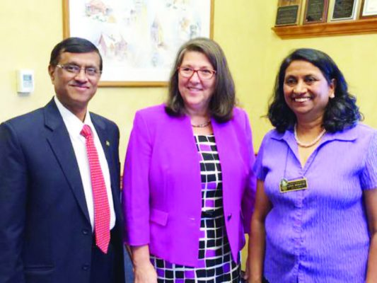 CG with the Mayor of New Hampshire Donna lee Lozeau