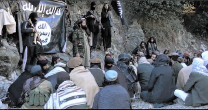 Isis presence is increasing in a swathe of areas in Afghanistan