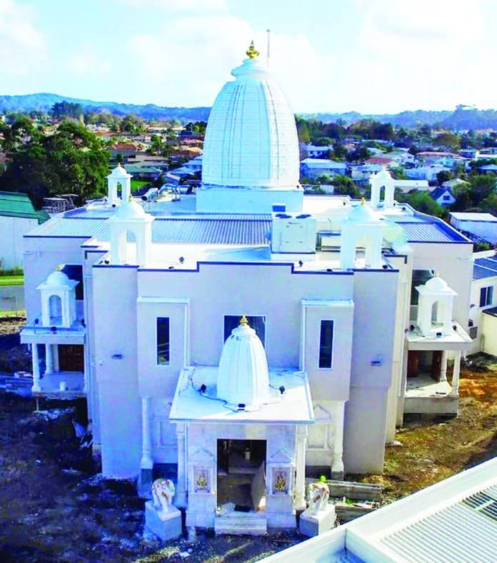 hindu temple in NZ