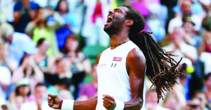 BROWN HAMMERS NADAL OUT OF WIMBLEDON