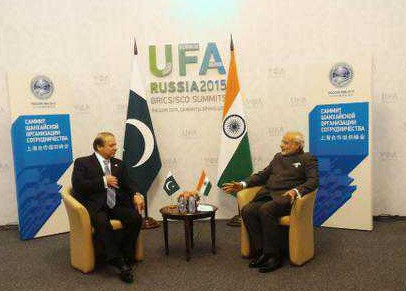 Prime Minister of India Narendra Modi and his Pakistani counterpart Nawaz met, July 9, for 50 minutes in Ufa, Russia and discussed all issues of importance to both sides. The meeting that took place at the initiative of PM Modi, proved to be an ice breaker.