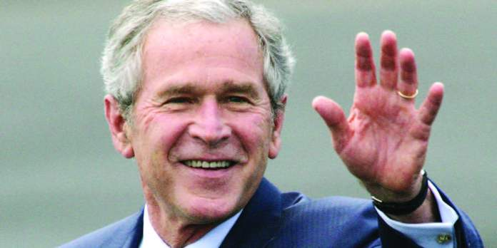 The 43rd President of USA George Bush was summoned to be a Juror at Judge Eric Moye's 14th civil district court