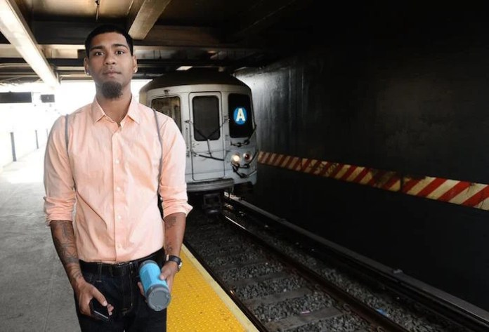 Yardarm Singh,18, and a group of friends were on their way to Rockaway Beach when he was arrested for playing music at the Broad Channel A train station and had to spend a night in jail.