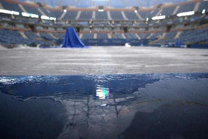 Rain delays Serena Williams - US Open 2015