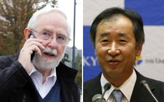 Arthur B. McDonald and Takaaki Kajita. Photo- Reuters