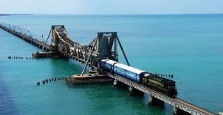 RAMESHWARAM Bridge