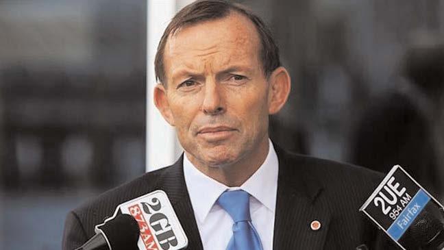 Former Australian PM Tony Abbot said the West