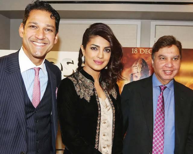 Priyanka Chopra poses for a photograph at the press conference
