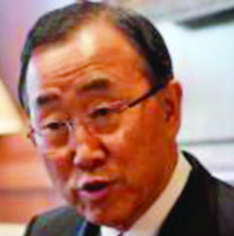 UN Secretary General Ban Ki-Moon has offered to help India Pakistan iron out their differences