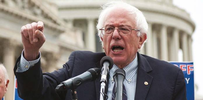 Bernie Sanders does not concede Democratic nomination to Hillary Clinton but vows to support her defeat Trump