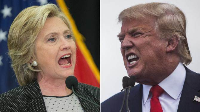 Clinton versus Trump on the horizon