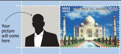 Get your picture as a stamp