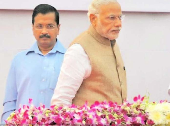 Unleashing a severe attack on PM Narendra Modi, Kejriwal wondered if the country was in