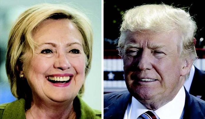 Hillary Clinton leads Donald Trump by 10 percentage points nationally. Clinton's favorable/unfavorable rating is 41 percent/53 percent, while Trump's is 33 percent favorable / 61 percent unfavorable, according to a Quinnipiac University survey released Thursday, August 25.