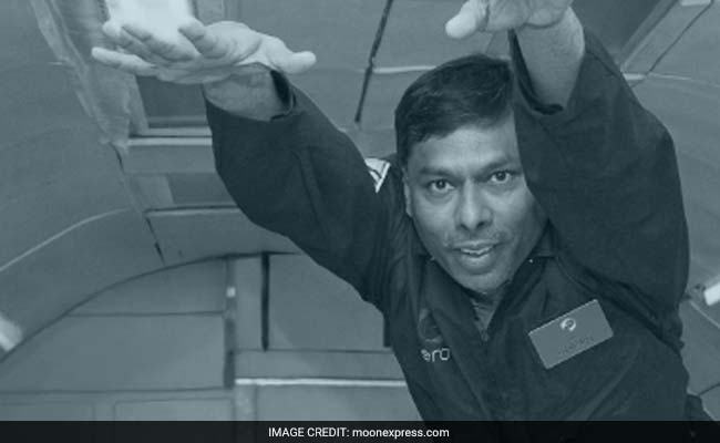 Naveen Jain, co-founder and chairman of Moon Express