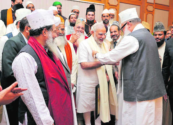 Twin strategy: Modi wants to woo Muslim nations and bolster Muslim votes in UP.