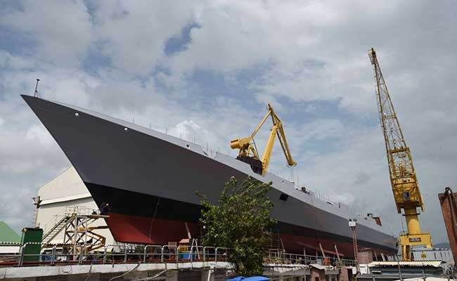 The Mormugao will be able to fire Barak Surface to Air and BrahMos missiles.