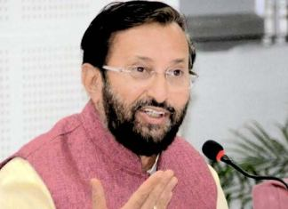HRD minister Prakash Javadekar speaks at vice chancellor's review meeting at BHU, Varanasi. (PTI File Photo)