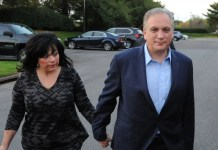 :Nassau County Executive Ed Mangano and his wife surrendered to the FBI Thursday, October 20, to face corruption charges in Long Island Federal Court Venditto was arrested from his home.
