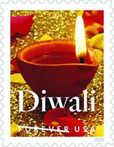 The goodness, the purity, the beauty of Diwali diya were so beautifully woven together with lustrous colors in the Diwali Stamp USPS unveiled, October 5, in the presence of exultant Indian American community, politicians, lawmakers, officials, media and the USPS staff at the Indian Consulate in New York. The gorgeous stamp is the result of the imagination and artistic touch of a triumvirate. The diya was photographed by Sally Anderson Bruce of New Milford, CT. The stamp was designed by Greg Breeding of Charlottesville, VA. And William J. Gicker of Washington DC was the Art Director of the Project Diwali Stamp. Photos/ Mohammed Jaffer-SnapsIndia