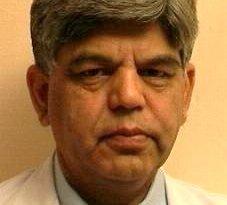 Prof.Amod Gupta, HoD Eye