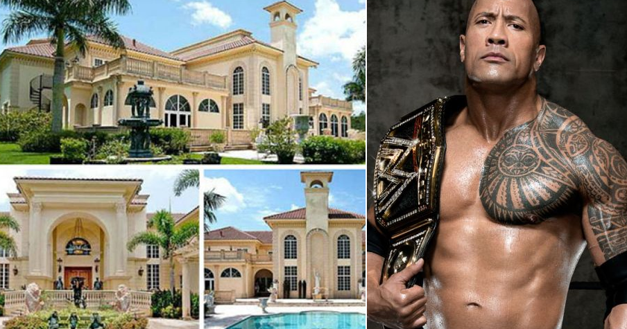 10 WWE legends with the most expensive houses (With Pics)